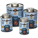 Millrose 76023 Monster Stay Soft 4 Fluid Ounce PTFE Pipe Thread Sealant, Blue