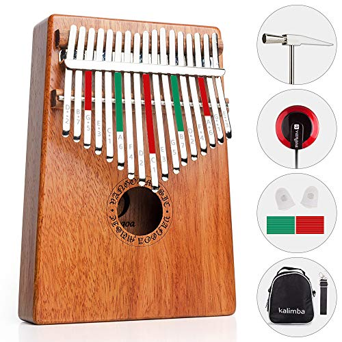 Vangoa 17 keys Kalimba Thumb Piano kit Finger Piano, for sale  Delivered anywhere in USA