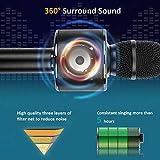 BONAOK Bluetooth Wireless Karaoke Microphone,3-in-1