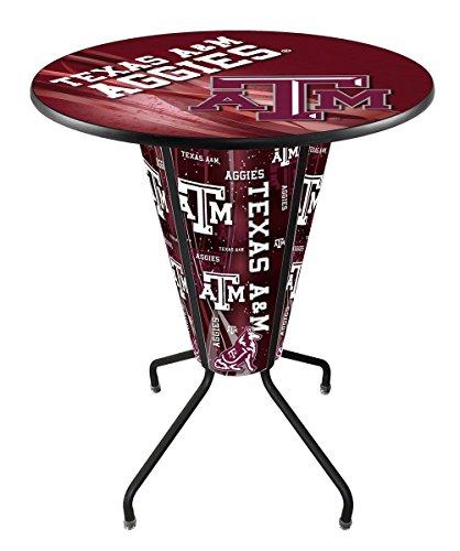 (Lighted Texas A&M Pub Table )