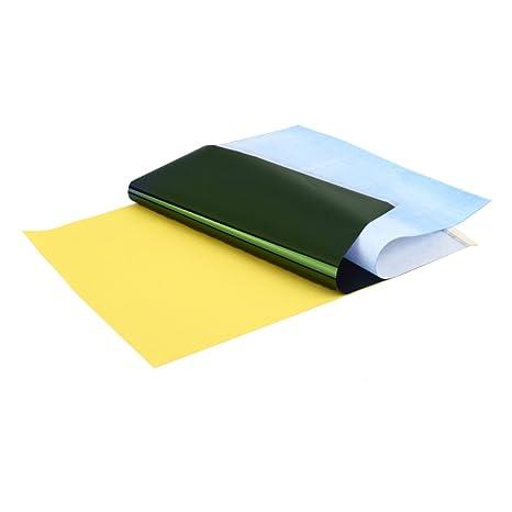 1 lote (10 hojas) Suministro de papel de calco copia cuerpo arte ...