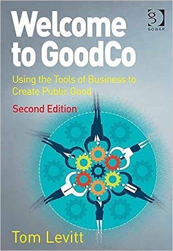 Ebooks pour téléphones mobiles téléchargement gratuit Welcome to GoodCo: Using the Tools of Business to Create Public Good DJVU 1472469836