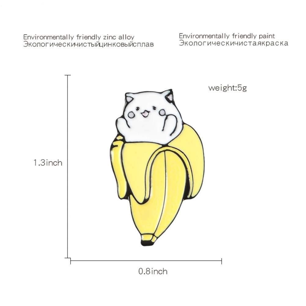 JTXZD Broche Alfileres de Esmalte de Dibujos Animados Frutas ...