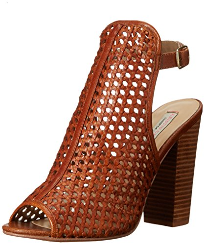 Chinese Mesh Sandals (Chinese Laundry Kristin Cavallari Women's Largo Open Back Sandal, Mahogany Leather, 10 M US)