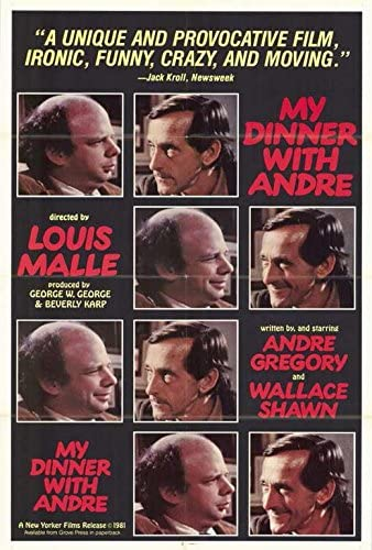Image result for my dinner with andre poster amazon
