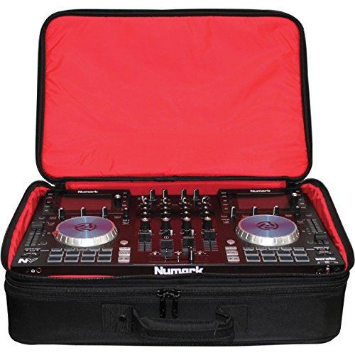 Tabletop Controller Digital Music (Odyssey Cases BRLDIGITALXLE   Red Series Digital XLE DJ Controller Gear Bag)