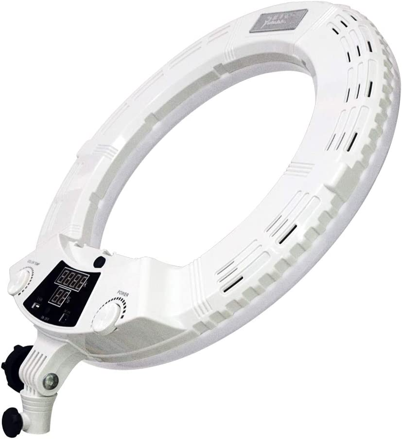 Yidoblo AX-480EII 5500K Warm /& Cold Bio-Color Camera Photo//Studio//Phone//Video 18 240 LED Ring Light LED Lamp Makeup Ring lamp AX-480EII