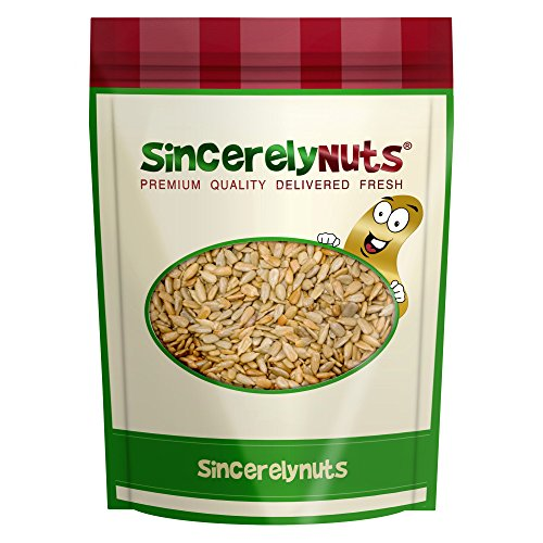 Sincerely Nuts Sunflower Seeds Roasted & Unsalted (No Shell) 1 LB