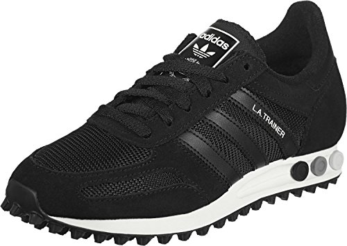 adidas Unisex-Erwachsene LA Trainer Men Sneakers Noir