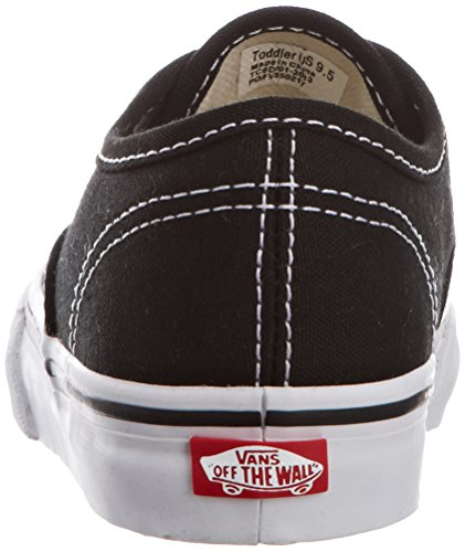 Zapatillas Vans Kids Authentic Skate Black / True White
