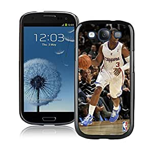 New Custom Design Cover Case For Samsung Galaxy S3 I9300 LA Clippers Chris Paul 1 Black Phone Case