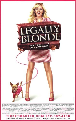 (Legally Blonde The Musical Poster Broadway Theater Play 11x17 MasterPoster Print, 11x17)