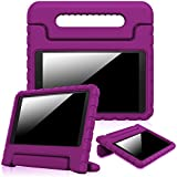 Fintie Case for Fire HD 10 (5th Generation, 2015 Release), [Kids Friendly] Shock Proof Light Weight Convertible Handle Stand Cover for Fire HD 10.1 Inch Tablet - Purple