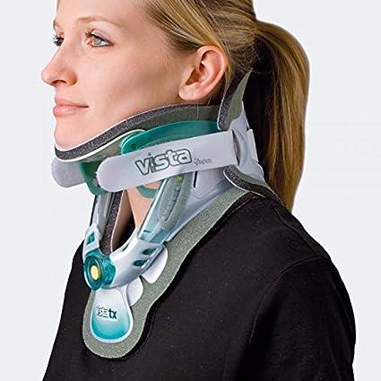 Aspen-modelo Aspen Vista TX collarín cervical bivalvos sternale con soporte altura regulable