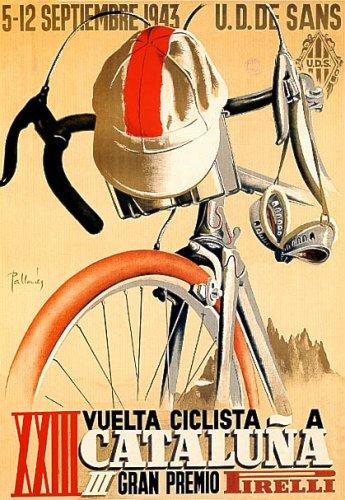 WONDERFULITEMS VUELTA CICLISTA 1943 SPAIN CYCLING TOUR OF...