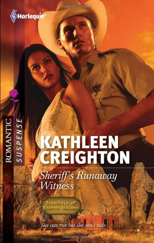 book cover of Sheriff\'s Runaway Witness