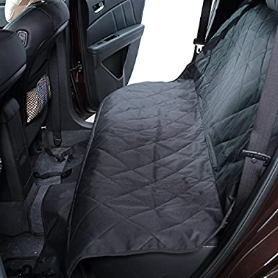 Proteove Waterproof Hammock Dog Seat Cover for Cars, SUV's and Vehicles, Non slip,Thicken Oxford Quilted Pet Seat Cover