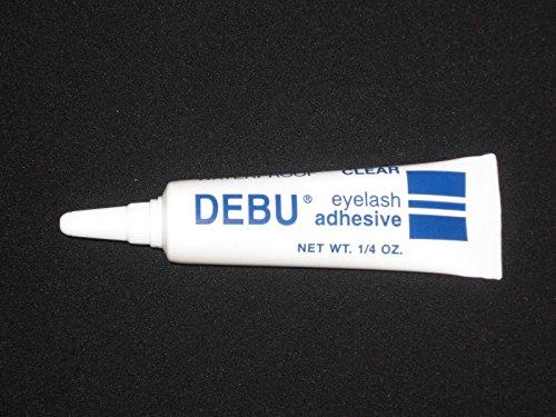 Lashes Net (Debu Eyelash Adhesive Waterproof NET Wt.1/4 Oz Tube(clear ) Eyelash Glue.)