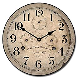 Bundy Wall Clock, Available in 8 Sizes, Most Sizes Ship 2-3 Days,