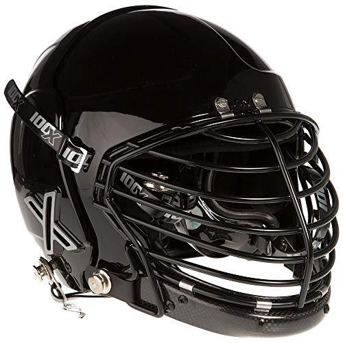 - 100X Helmets 100X Alpha Bullriding Helmet Black L/XL