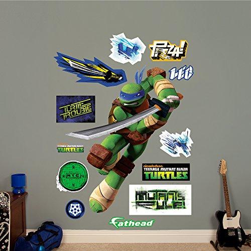 ninja turtle fathead leonardo - 1