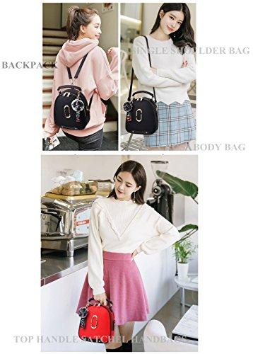 Hobo Black Tan Handbags Satchel Fashion Jopchunm Bags Crossbody Purse multifonction Top Tote Shoulder for Designer Women Handle 1wfvfqx4