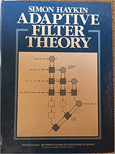 Buy Adaptive Filter Theory Book Online at Low Prices in India