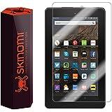 "Amazon Fire Screen Protector (2015,7""), Skinomi® TechSkin Full Coverage Screen Protector for Amazon Fire Clear HD Anti-Bubble Film - with Lifetime Warranty"