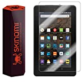"Amazon Fire Screen Protector (2015,7""), Skinomi TechSkin Full Coverage Screen Protector for Amazon Fire Clear HD Anti-Bubble Film"