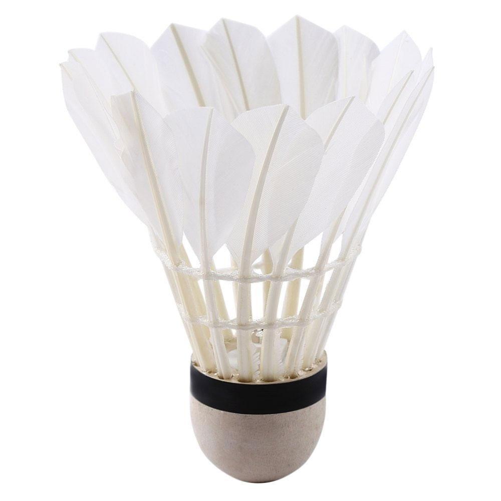 Pawaca 4pcs LED colorées volant de badminton Dark Night Glow Birdies éclairage pour usage intérieur et extérieur activités de sports