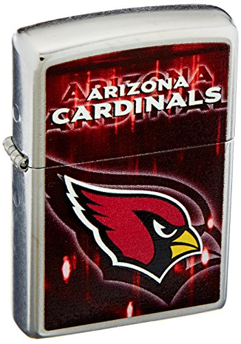 Zippo NFL Arizona Cardinals Chrome Pocket Lighter