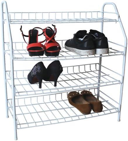 AMOS 4 étages en fil métal Chaussures à talons Rack support