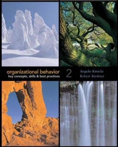 Organizational Behavior with Student CD-ROM and OLC card