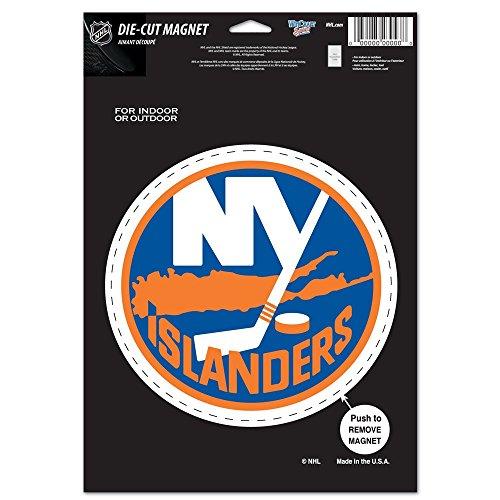 WinCraft NHL New York Islanders Die Cut Logo Magnet, 6.25