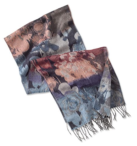 Orvis Women's Abstract Ombre Floral Scarf