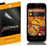 [6-Pack] SUPERSHIELDZ- High Definition Clear Screen Protector Shield For ZTE Boost Warp 4G N9510 (Boost Mobile) + Lifetime Replacements Warranty [6 Pack] - Retail Packaging