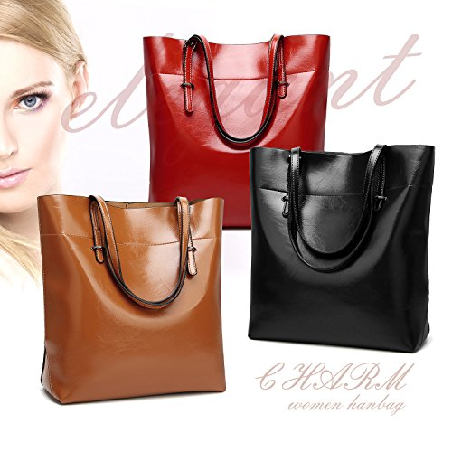2425b671c6e6 ToLFE Top Handle Satchel Handbags Shoulder Bag Messenger Tote Bag Purse for  Women (Black-01)