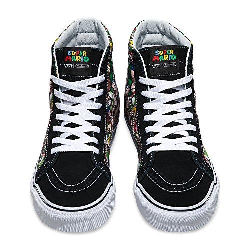 ad7d13f28c Amazon.com  Vans SK8-Hi Reissue X Nintendo Nintendo Mario Luigi True White  Skate Shoes  Shoes