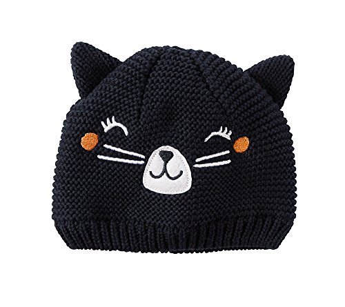 Black Cat Hat - Carter's Baby Girls' Cat Face Knit