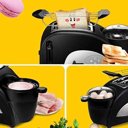 JYDQB Le Grille-Pain à Fente Large for œufs et Muffins Rapides avec Plateau à miettes Amovible comporte de la Viande