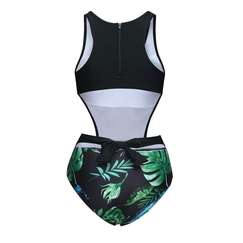 2dc52a518df Amazon.com: One-Piece Swimsuit,Liuliuliu Women One Piece Printed ...