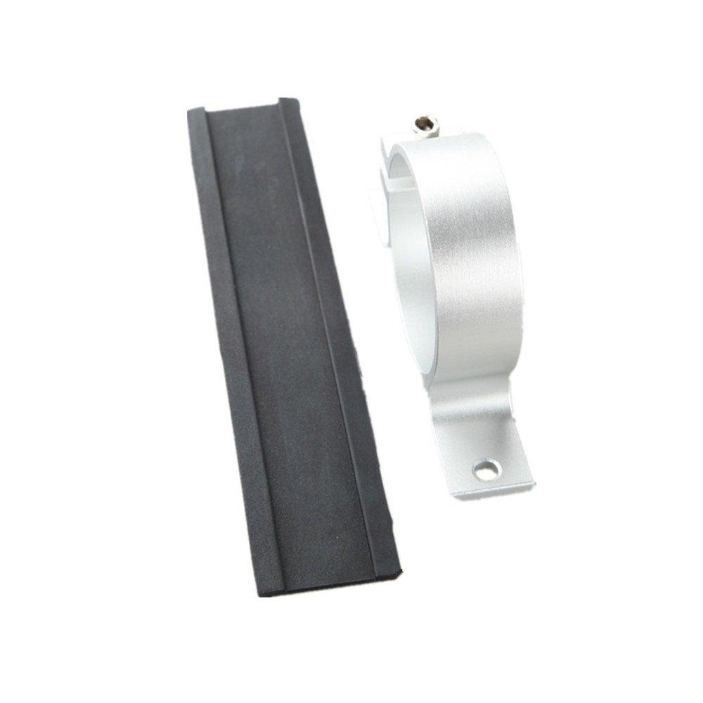 2 50.8mm Fuel Pump Bracket Billet Filter Clamp Cradle Aluminum Red