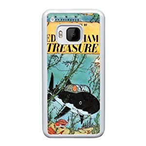 HTC One M9 Cell Phone Case White TinTin cartoon AS7YD3560560