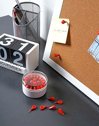 20 spilli decorativi a forma di puntine per bacheca in sughero e portafoto da parete in casa e ufficio