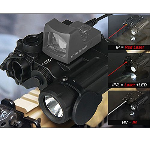 Dual Ir Light (Canis Latran Tactical Flashlight High Light LED DBAL-D2 Dual with IR)