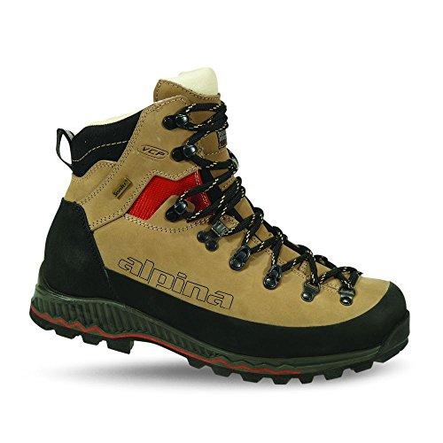 Alpina Népal 6298-1, Homme Chaussures De Trekking et de randonnée, Bottes de montagne, beige, taille 45
