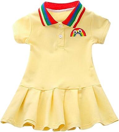 K-Youth Vestido Bebe Niña Navidad Camisetas de Niñas Ropa Niña ...