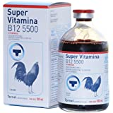 SÚPER VITAMINA B12 5500 100ml GALLOS