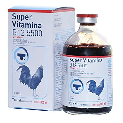 61a8bbac2 Amazon.com  SÚPER VITAMINA B12 5500 100ml GALLOS  Pet Supplies