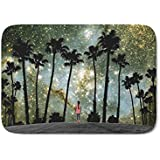Society6 Paradise Galaxy Dream Bath Mat 21 quot; x 34 quot;